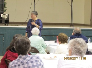 SPN Senior Club Luncheon with Sheila Ruth